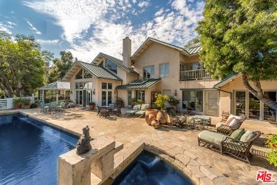 Los Angeles County Single Family Home For Sale: 1955 Mandeville Canyon Road