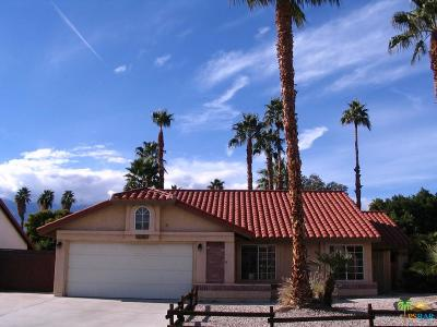 Cathedral City Single Family Home For Sale: 28703 Avenida Marquesa