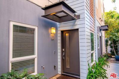 Los Angeles Single Family Home Active Under Contract: 5641 Cielo Way