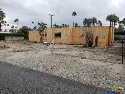 Palm Springs Single Family Home For Sale: 979 East San Lorenzo Road