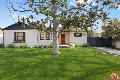 Valley Village Single Family Home Active Under Contract: 5430 Ben Avenue