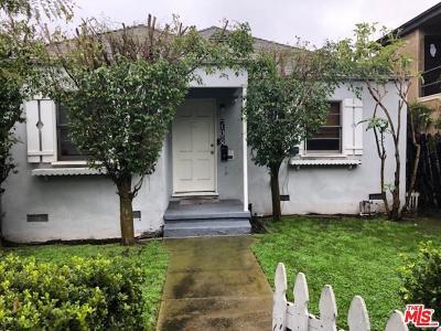 Los Angeles County Single Family Home For Sale: 708 Machado Drive
