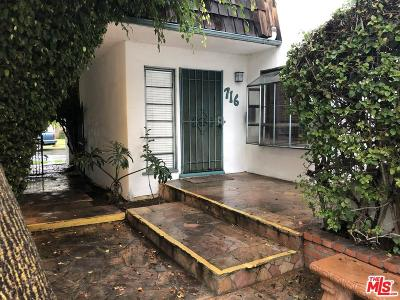Los Angeles County Residential Income For Sale: 716 Machado Drive