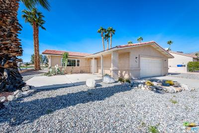 Desert Hot Springs Single Family Home For Sale: 9681 Oakmount