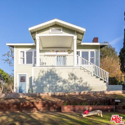 Los Angeles CA Single Family Home For Sale: $750,000