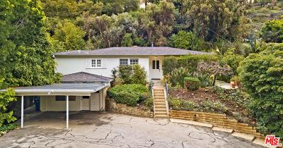 Beverly Hills Single Family Home For Sale: 1578 Benedict Canyon Drive