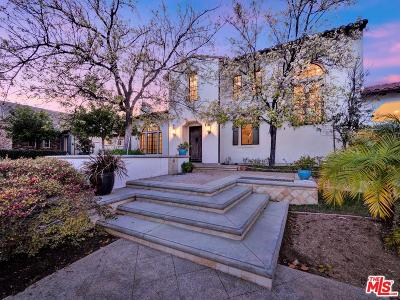 Calabasas CA Single Family Home For Sale: $4,250,000