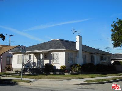 Inglewood Single Family Home Active Under Contract: 2901 West 82nd Street