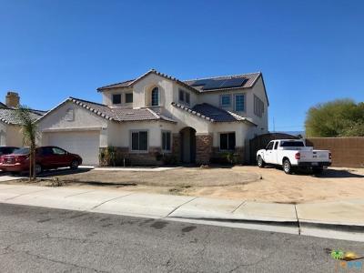 Coachella Single Family Home Active Under Contract: 50173 Calle Marbella