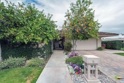 Rancho Mirage Condo/Townhouse Active Under Contract: 1 Reed Court