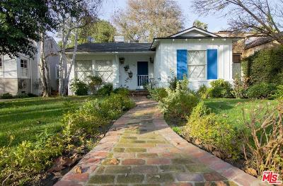 Studio City Single Family Home Active Under Contract: 12311 Cantura Street