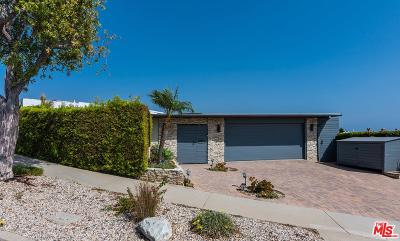 Malibu Single Family Home Active Under Contract: 3718 Seahorn Drive