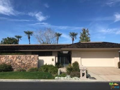 Rancho Mirage Single Family Home For Sale: 129 Yale Drive