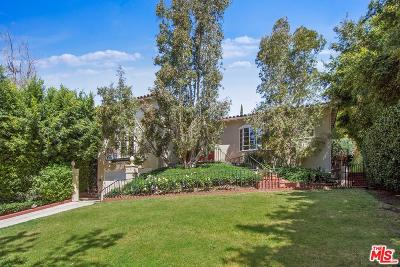 Los Angeles Single Family Home For Sale: 1136 North Doheny Drive