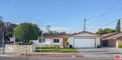Montebello Single Family Home Active Under Contract: 2124 West Lincoln Avenue