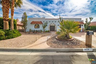 Desert Hot Springs Single Family Home For Sale: 9338 Clubhouse