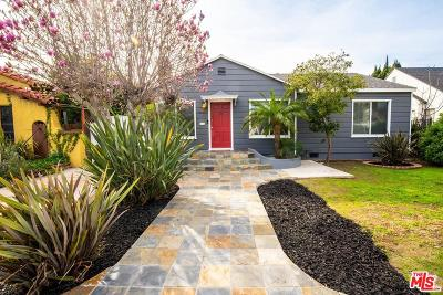 Los Angeles Single Family Home Active Under Contract: 2571 South Westgate Avenue