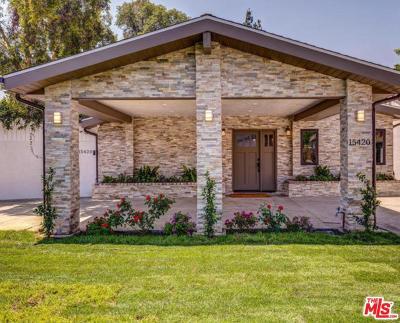 Sherman Oaks Single Family Home For Sale: 15420 La Maida Street