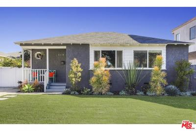 Culver City Single Family Home Active Under Contract: 4018 Sawtelle Boulevard
