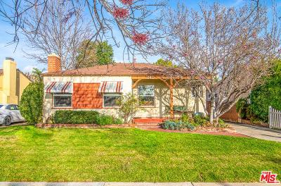 Burbank Single Family Home For Sale: 242 North Parish Place