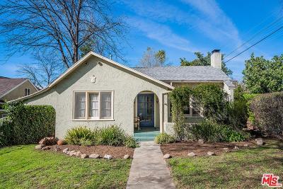 Altadena Single Family Home Active Under Contract: 2045 El Molino Avenue