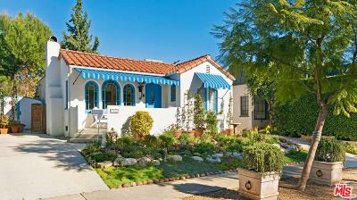 West Hollywood Single Family Home Active Under Contract: 8941 Ashcroft Avenue