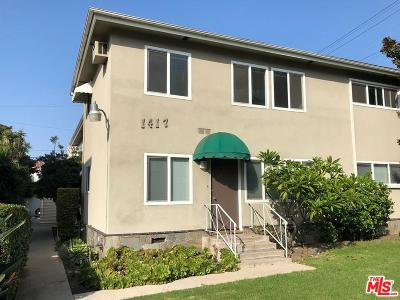 Beverlywood Vicinity (C09) Rental For Rent: 1417 South Holt Avenue #1