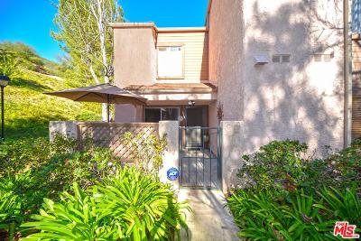 Westlake Village Condo/Townhouse For Sale: 109 Via Colinas