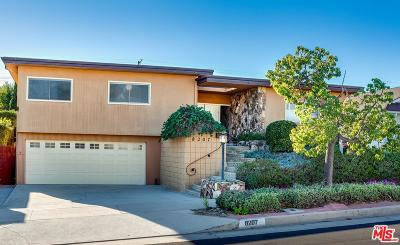 Playa Del Rey Single Family Home Sold: 8207 Calabar Avenue