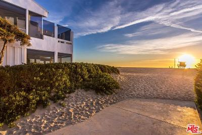 Los Angeles County Single Family Home For Sale: 4701 Ocean Front Walk Street