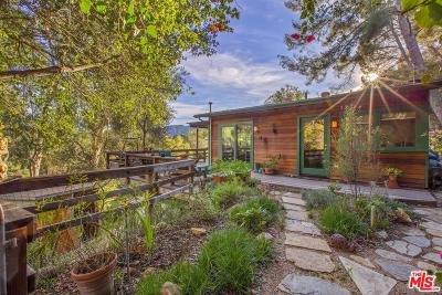 Topanga Single Family Home Active Under Contract: 2740 Marquette Drive