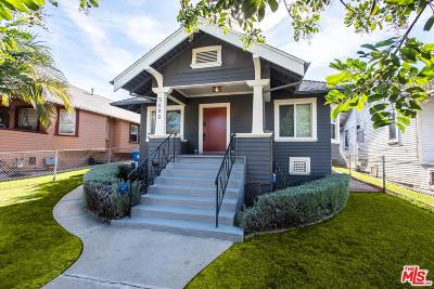 Los Angeles Single Family Home Active Under Contract: 5680 Baltimore Street
