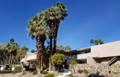 Palm Springs Condo/Townhouse Active Under Contract: 197 West Via Lola #11