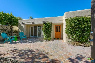 Palm Springs Condo/Townhouse Active Under Contract: 1108 East Casa Verde Way