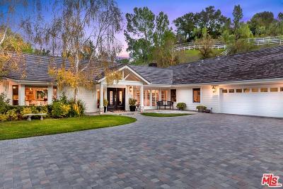 Hidden Hills Single Family Home For Sale: 24976 Kit Carson Road