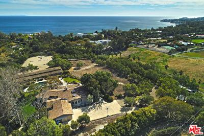 Malibu Single Family Home For Sale: 27580 Winding Way