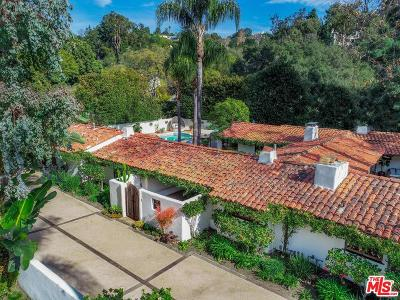 Single Family Home Active Under Contract: 1920 Mandeville Canyon Road