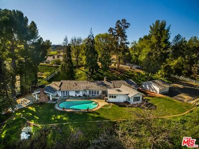 Hidden Hills Single Family Home Active Under Contract: 24173 Lupin Hill Road