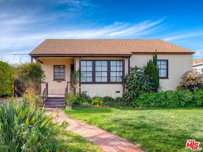 Los Angeles Single Family Home For Sale: 7833 Naylor Avenue