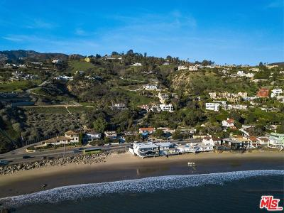 Malibu Single Family Home For Sale: 21701 Pacific Coast Hwy