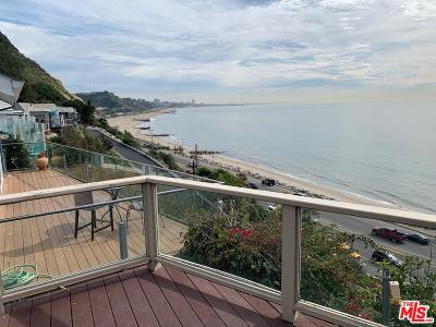 Pacific Palisades Condo/Townhouse For Sale: 17015 Pacific Coast Highway #10