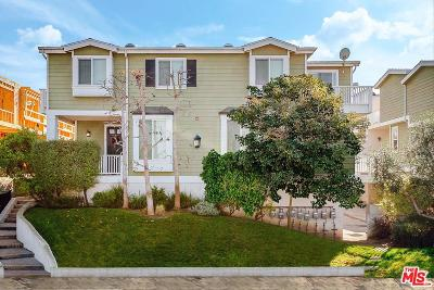 Manhattan Beach Condo/Townhouse For Sale: 1208 Tennyson Street #7