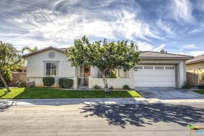 Rancho Mirage Single Family Home Active Under Contract: Via Del Mercato