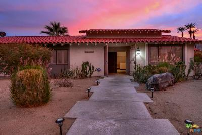 Rancho Mirage Single Family Home Active Under Contract: 70305 Mottle Circle