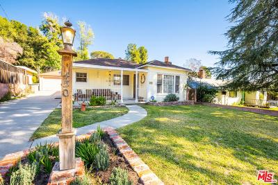 Sierra Madre Single Family Home For Sale: 450 Foothill Avenue