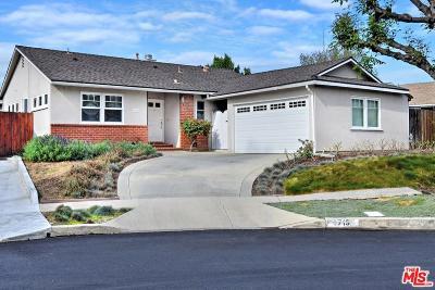 Sherman Oaks Single Family Home For Sale: 4715 Katherine Avenue