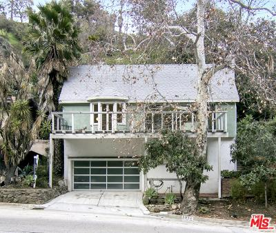 Single Family Home For Sale: 2212 Laurel Canyon