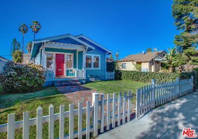 Santa Monica Single Family Home For Sale: 709 Copeland Court