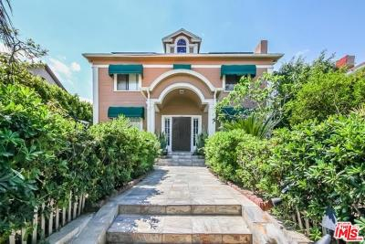 Single Family Home For Sale: 1023 South Wilton Place