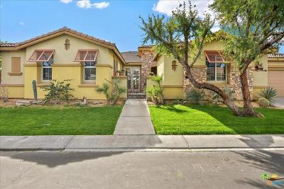 Indio Single Family Home Active Under Contract: 82731 Cody Drive